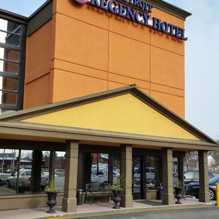 Detroit Regency Hotel: front entrance