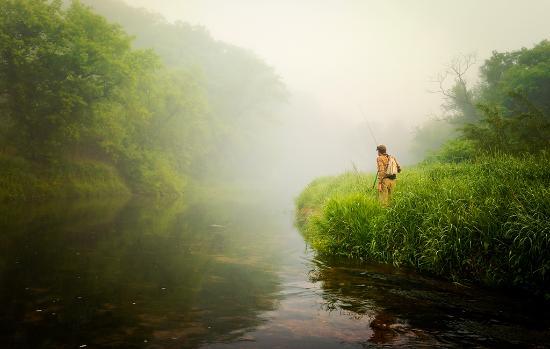 Iowa: Waterloo Creek, Dorchester
