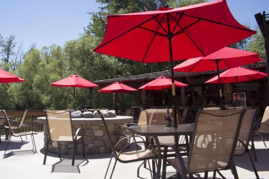Bigfork, MT: Tiki Bar Dining