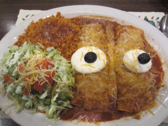 Butte, MT: The enchiladas look at me...