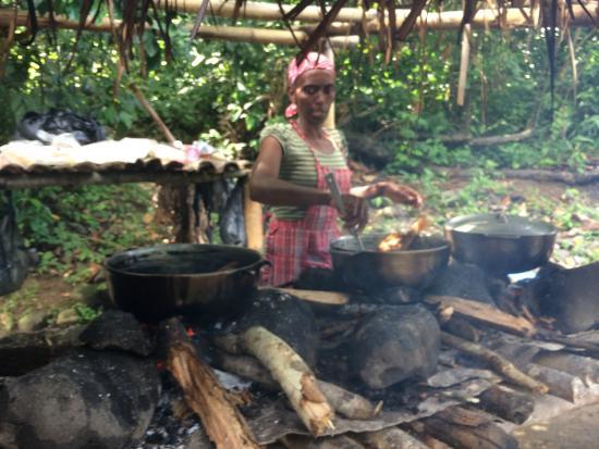 Belinda's: Belinda aan het koken