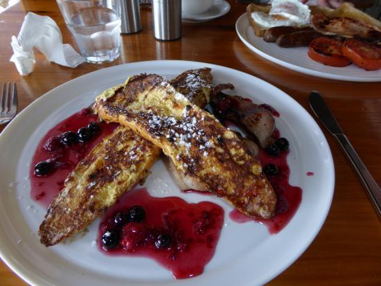 Mangonui, Nya Zeeland: Pancakes for the better half