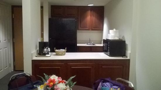 Wingate by Wyndham Indianapolis Airport-Rockville Rd: kitchenette