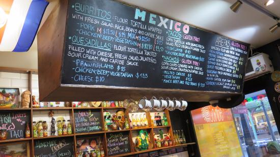 Menu Picture of Caribe Latin Kitchen Queenstown TripAdvisor