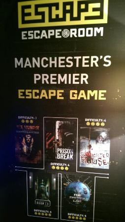Chapel Street Manchester Escape Room
