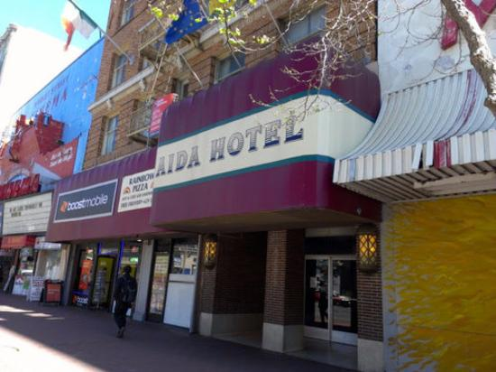 Aida Hotel: Fachada