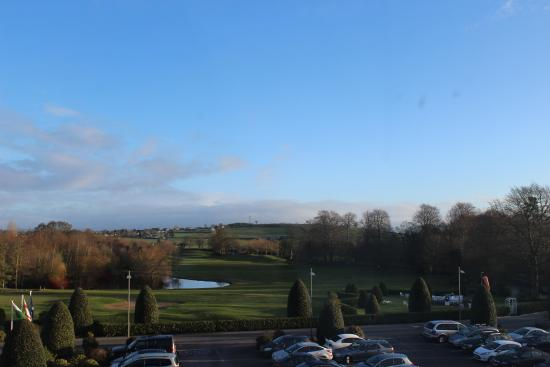 Tullow, Ierland: View from room