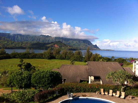 """Hanalei Bay Resort: View from the room in """"Ginger"""" building."""