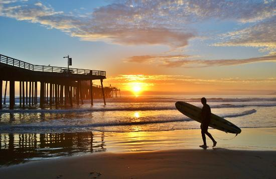 San Luis Obispo County, Californie : Pismo Beach