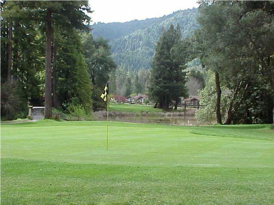 Golfing in Boulder Creek - Photo courtesy of Boulder Creek Golf & Country Club