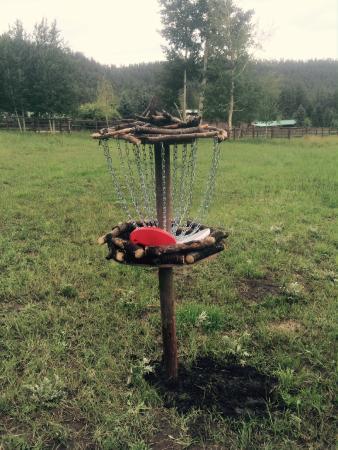 The Greer Peaks Lodge: Disk Golf