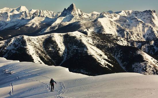 Essex, Montana: View of surrounding area