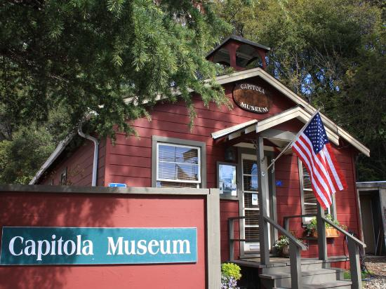 Capitola Museum in Capitola Village - Photo courtesy of Frank Balthis