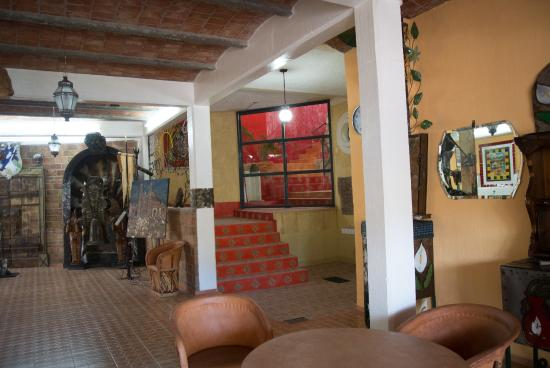 Casa Zuniga B&B: Casa Zuniga is a labyrinth of interesting spaces.