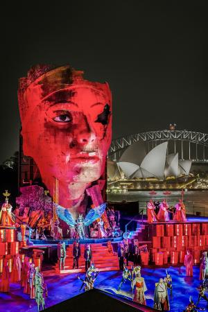 Opera Australia production - Aida - Handa Opera on Sydney Harbour