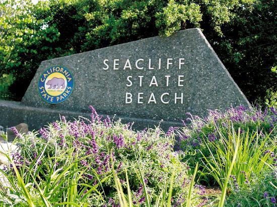 La Selva Beach, CA: Seacliff State Beach Entrance - Photo courtesy of Mark Barnes