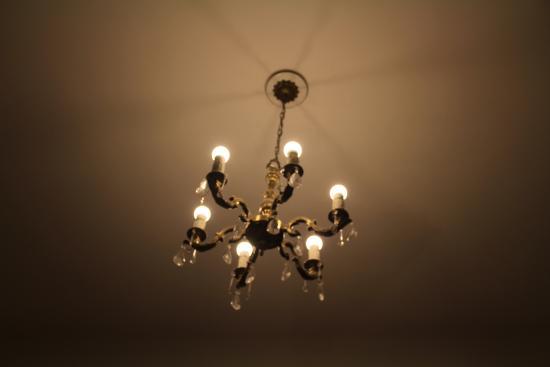 Le Vitral Baires Boutique Hotel: Lindo lustre para iluminação do quarto