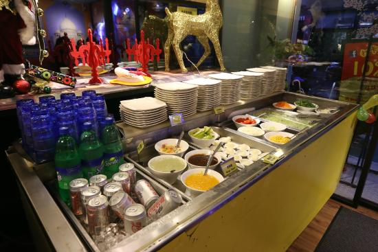 Cool The Indian Buffet Setup At Mik 4Ever Picture Of Mayur Interior Design Ideas Tzicisoteloinfo