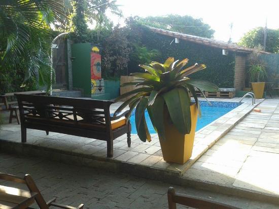 Hostel Braz: Área de piscina
