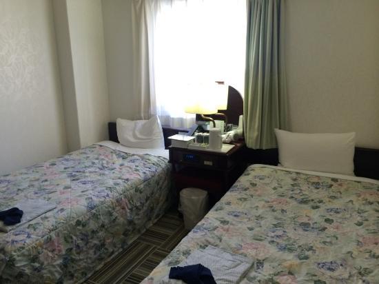The  Hotel North Osaka: ツインのシングルユースで泊まりました
