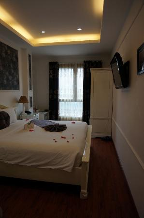 My Room Picture Of Golden Sun Palace Hotel Hanoi Tripadvisor