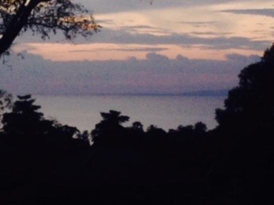 Kep Lodge Restaurant: view from restaurant