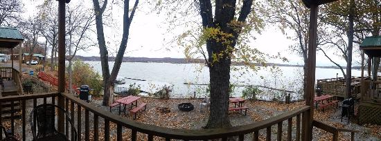 Grove, OK: View from Cabin 6 porch