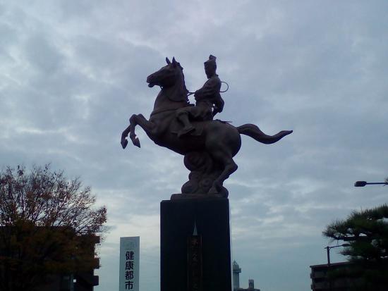 Statue of Mizuno Matataro Yoshiharu