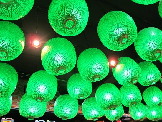 Go Beyond Asia: Lamps in Chinatown Bangkok