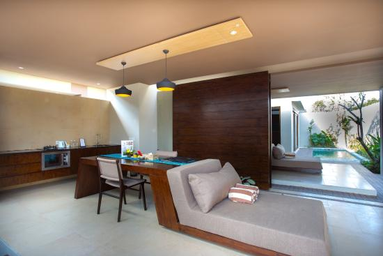 Living Room Family Private Pool Villa