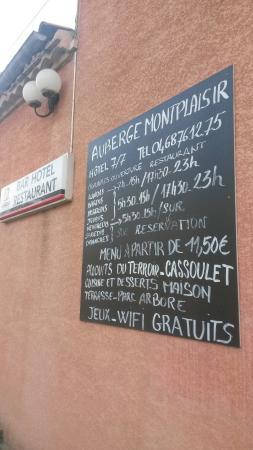 Bram, Frankrijk: Restaurant sympathique