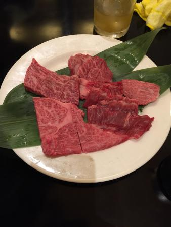 Charcoal Grilled Wagyu Japanese Beef Tsurugyu Shinsaibashi