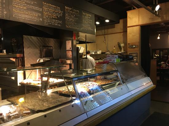 Pastameli's: Pizza and other dishes to go, or by the slice.
