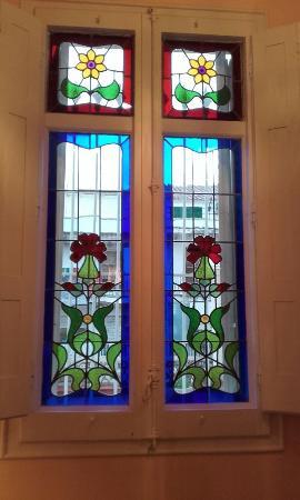 Hotel El Xalet: Window in room