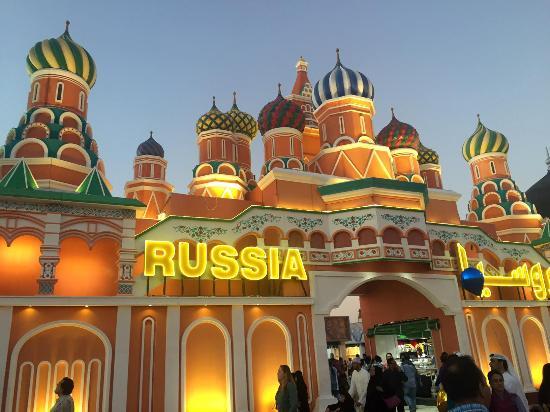 Russian pavilion - Picture of Global Village, Dubai ...