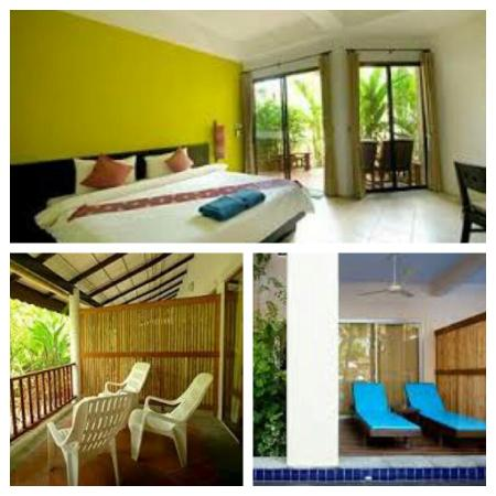 Ayara Villas: Room and balcony