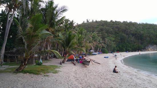 Padre Burgos, Filipina: Kwebang-lampas campsite