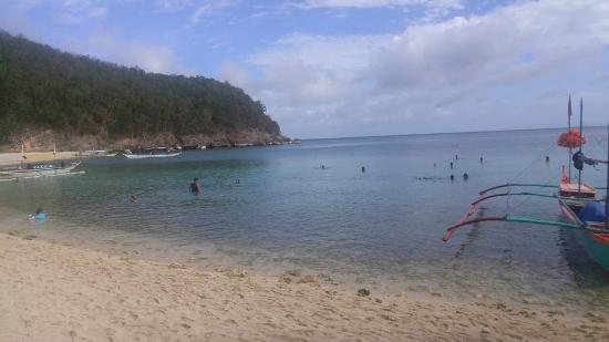Padre Burgos, Filipina: Kwebang-lampas beach