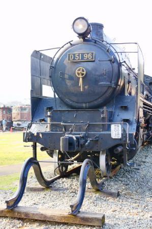 Usui Toge Railroad Cultural Village : D51型SL