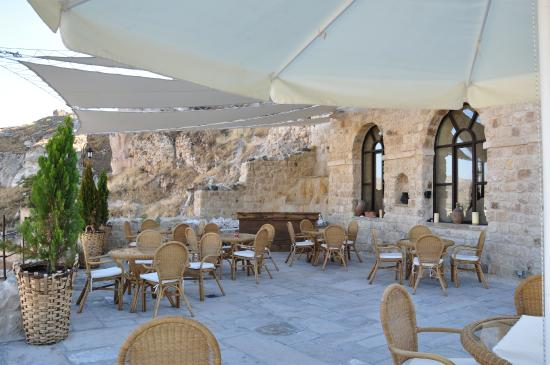 Dere Suites Cappadocia: LAGARTO RESTAURANT TERRACE