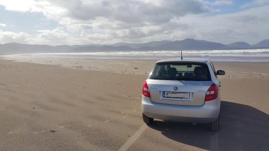 Inch, Irlandia: On the beach