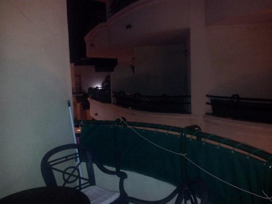 Apartamentos Mediterraneo: view from balcony