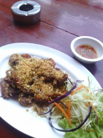 Baan Kai Bae Seafood : ปูนิ่มทอดกระเทียมพริกไทย