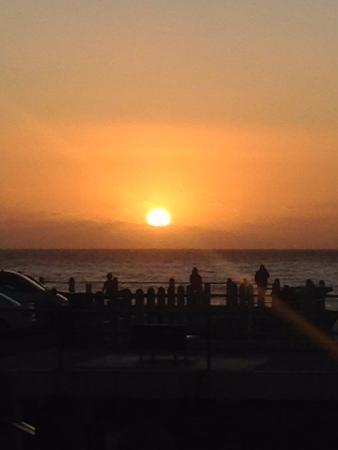 Bantry Bay, Afrika Selatan: Закат