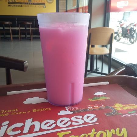 Pink Lava Foto Richeese Factory Depok Tripadvisor