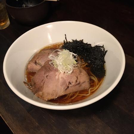 Kuro no Bo: 醤油ラーメン