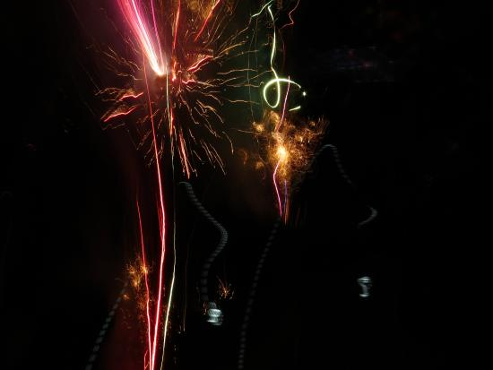 Tal-y-llyn, UK: More fireworks reflecting