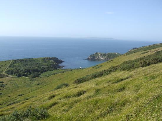 Bindon Bottom B&B: Lulworth Cove - from Bindon Hill