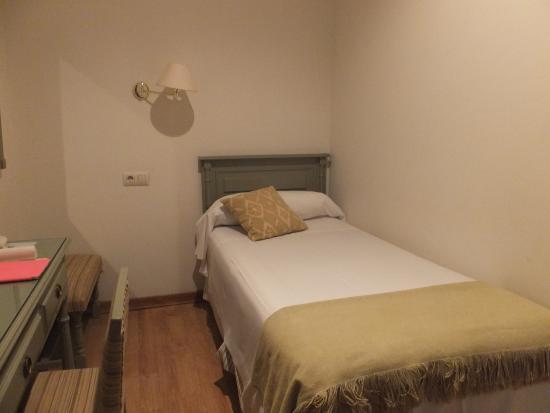 Hotel Alcantara: シングルの部屋