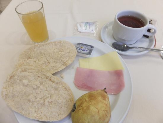 Hotel Alcantara: ホテルの朝食